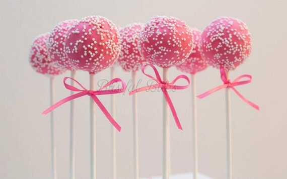 Bridal shower cake pops-Sprinkles Cake Pops-Made to Order 4 dozen
