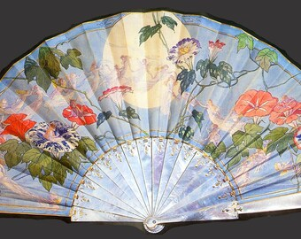 19th Century Fan - a 225 piece Wooden Jigsaw Puzzle from BCB Puzzles