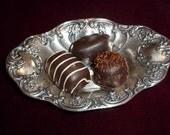 Vintage Gorham Silver Bon Bon Dish 1920's Trinket Bowl