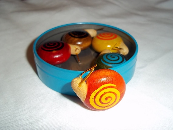 Snail magnets from Japan