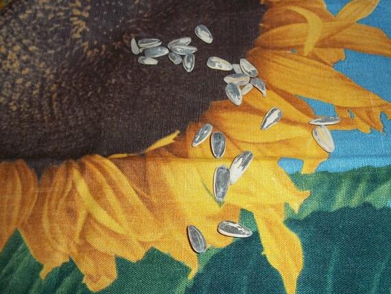 Vintage Sunflower tea Towel