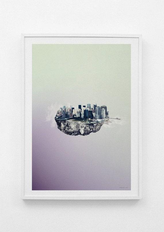 Islands /// New York /// limited edition print