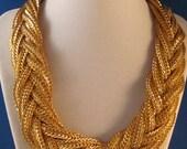 Vintage Napier Runway Choker Necklace Big Bold Beautiful WOW