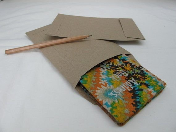 Set of 25 Brown Kraft Envelope size 4.5 inch X 7 inch (A6)