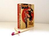 Pulp Fiction Matchbook   TITTER - Handmade