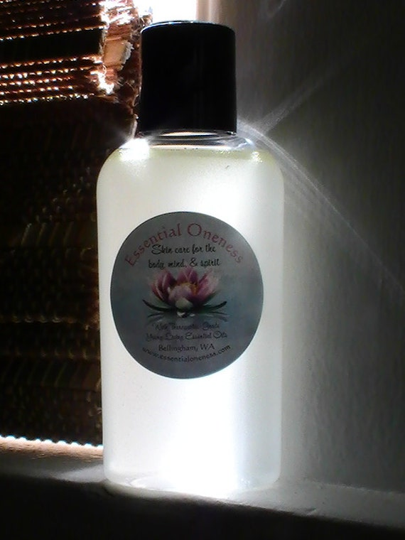 Natural Hand-Sanitizer, alcohol-free, w/ therapeutic-grade essential oils, Thieves blend & Tea Tree