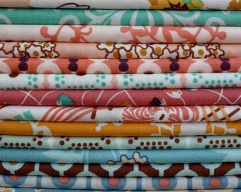 Art Gallery Fabrics Summerlove Collection Twenty Piece Fat Quarter Bundle