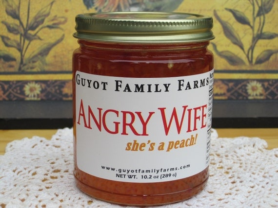 Angry Wife - Spicy Jelly - 10.25oz