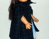 American Girl Pleasant Company Samantha's Cape and Gaiters