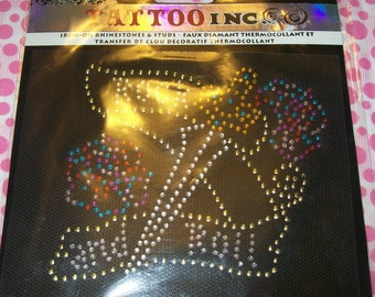 Iron-On Rhinestones and Studs Rock and Roll
