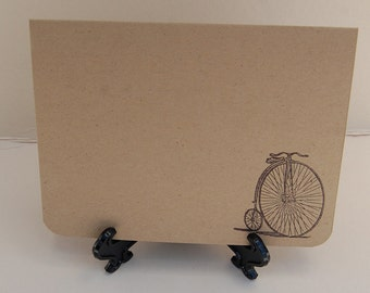 Antique Bicycle Father's Day Card