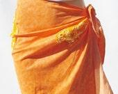 Orange Cover-up