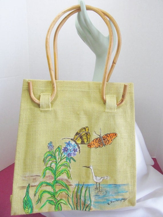 LE TOTE with Original Painting