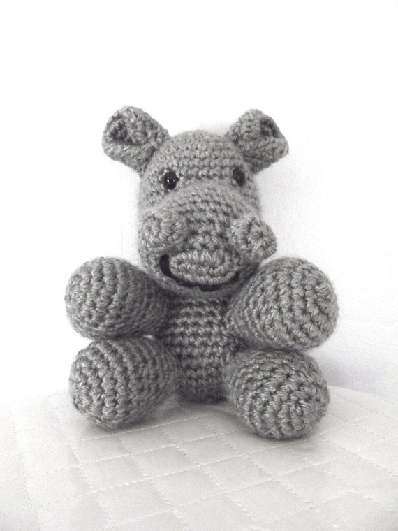 Crochet Pattern Crochet Hippo Pattern Stuffed Animal Childrens Toy Safari Animal Amigurumi Crochet Hippopotamus Plush Hippo Instant Download