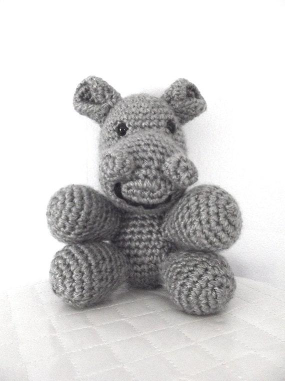 Crochet Pattern Crochet Hippo Pattern Stuffed Animal Childrens Toy Safari Animal Amigurumi Crochet Hippopotamus Plush Hippo Instant Download