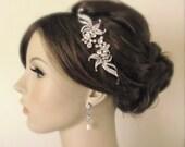 Bridal hair combs - 2 pieces crystal hair comb - bridal hair accessories