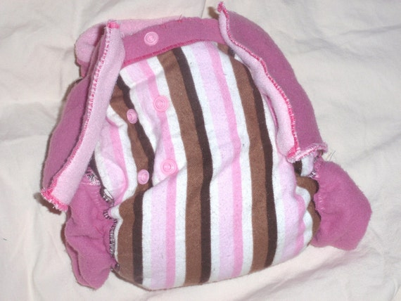Pretty in Pink Diaper 3-9months