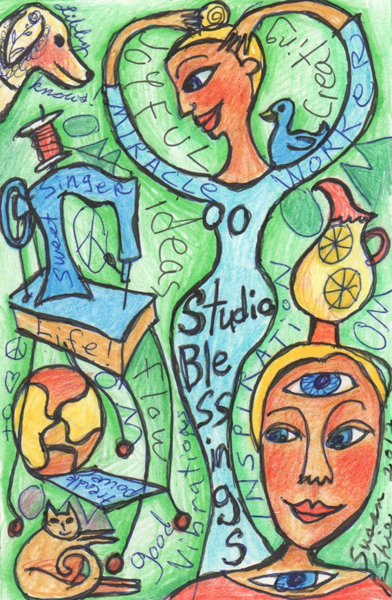 Studio Blessings 1 by Susan Shie