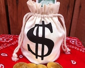 Western Wanted Money favor bags (10)