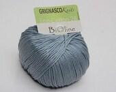 Silver Grignasco Bioline 28 - ECO Cotton - 140m/50gr - organic cotton yarn