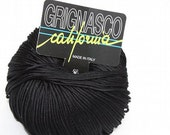 Grignasco California - Black - 110m/50g - 100% mercerized cotton yarn