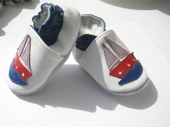 soft sole baby shoes leather infant kids children girl boy gift new ship 12-18 months Bébés garçon fille Chaussons porter