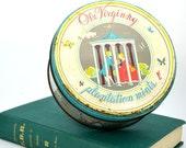 Tin Ole Virginny Plantation Mints rustic vintage