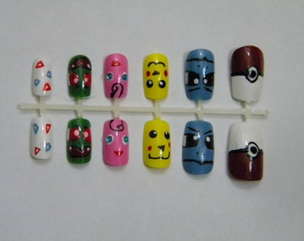 Pokemon False Nails