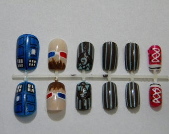 Tenth Doctor Nails