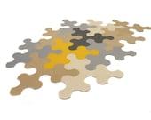 Puzzle rug / mat / carpet / jigsaw