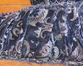 Screen print Ruche Velvet Ribbon J71222