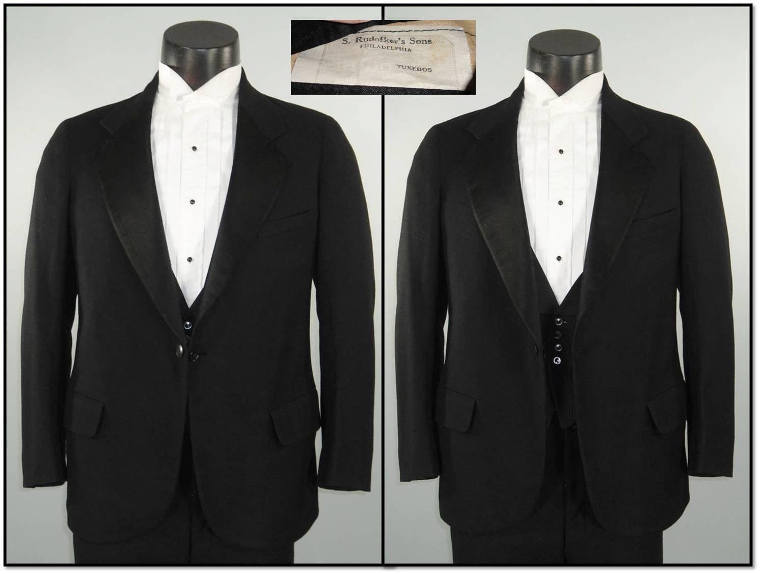 Vintage Black Suit 121