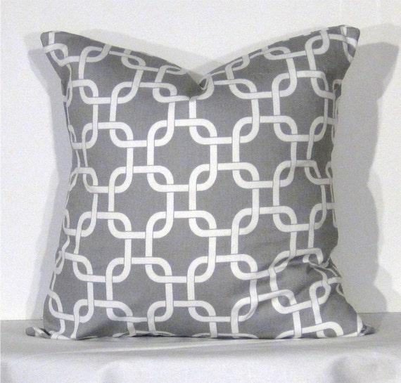 Euro Throw Pillow 26 x 26 Inch Cover Gotcha by DesignerPillowShop