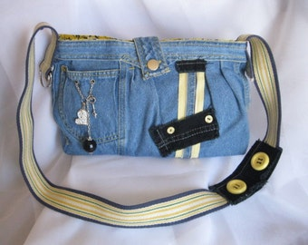 Purse jeans recycled  GEMMA