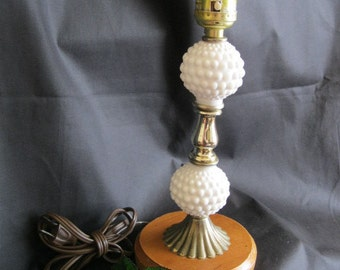 Lamp       Milk Glass Fenton