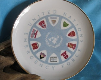 Plate  Emergency  Forces     UNITED  NATIONS