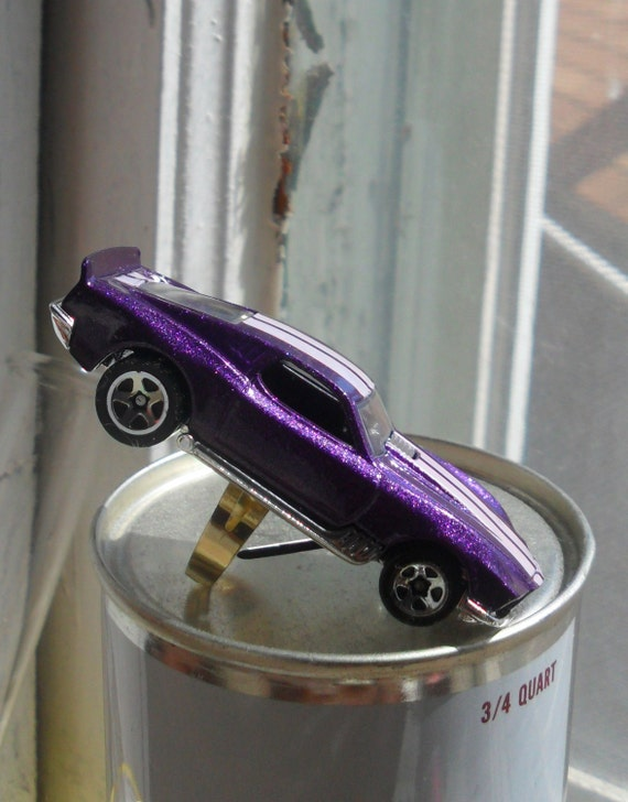 Toy Car Cocktail Ring Hot Wheels Corvette