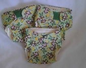 Set of 3 Newborn All In One Cloth Diapers