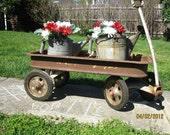 vintage childs radio flyer wagon