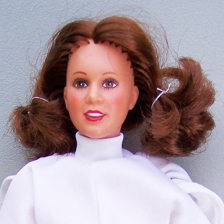 Vintage Star Wars ANH 1979 Princess Leia Doll C85Old Princess Leia