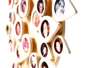 5% DISCOUNT Two trees of life: plain - 28 picture frames - birch plywood - family tree - mothers day - wedding - newborn - kids room