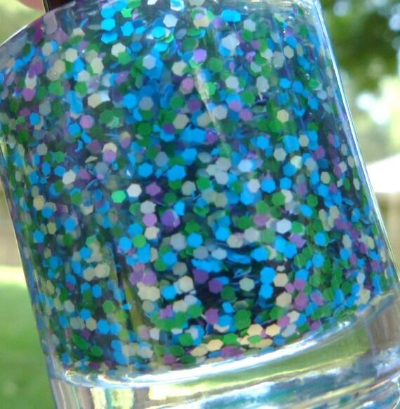 pool party - handmade nail polish