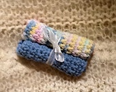 Baby Wash Cloth Duo