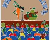 Fruit and Veggie: Live - 16x20 print