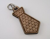 Personalized Dog ID Tag - Pet Collar Tag Wood Anchor Tie Cat Tag