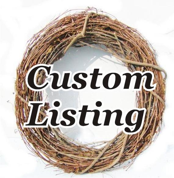 Custom Listing for Jessi Halstead
