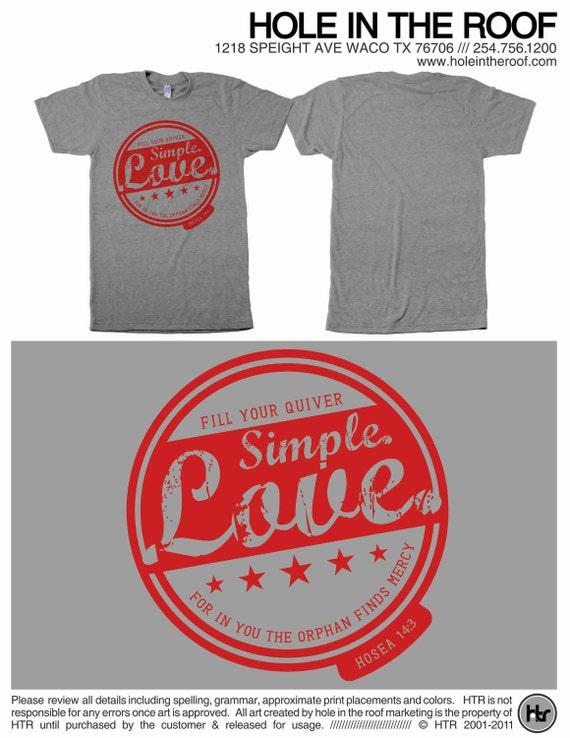 Items similar to simple love adoption fundraiser tshirt for Adoption fundraiser t shirts