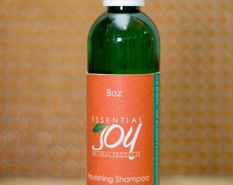 Nourishing Shampoo,  8 oz. Natural Hair Care, Natural Shampoo, Sulfate Free Shampoo