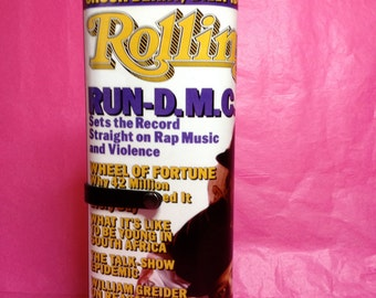 Rolling Stone Run DMC magazine clutch purse 1986