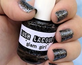 Glam Girl :  Custom-Blended Glitter Nail Polish / Lacquer